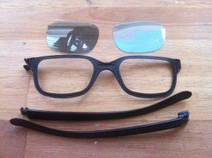 3D Brillen Recycling- die Überbleibsel